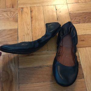 Lucky Brand NWOB never worn black ballet flats